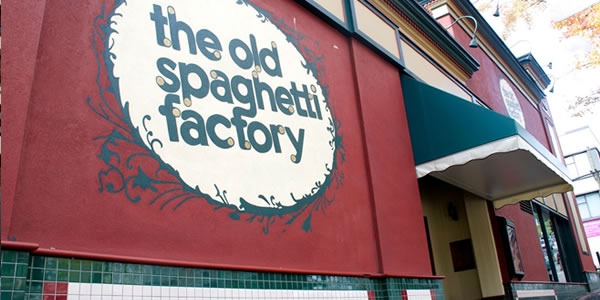 The Old Spaghetti Factory Exterior