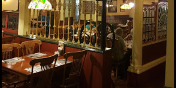 The Old Spaghetti Factory Interior
